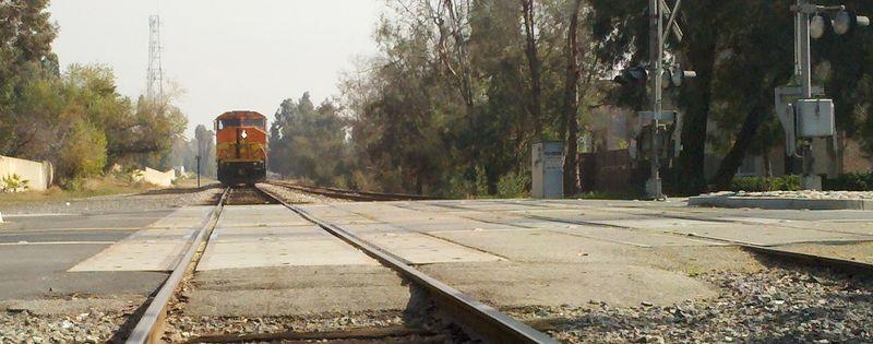 Train close